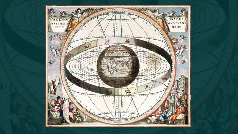El sistema geocéntrico de Ptolomeo